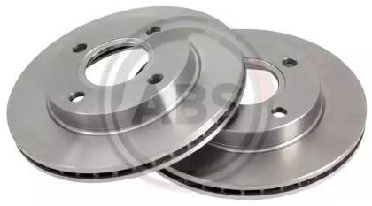 Вентилируемый тормозной диск на Форд Курьер 'A.B.S. 15981'.