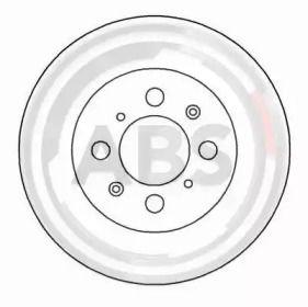Вентилируемый тормозной диск на HONDA CONCERTO 'A.B.S. 16059'.