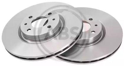 Вентилируемый тормозной диск на LANCIA LYBRA 'A.B.S. 16061'.