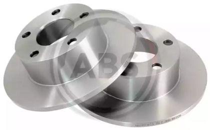 Тормозной диск на SKODA SUPERB 'A.B.S. 16099'.