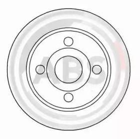 Тормозной диск на VOLVO 480 'A.B.S. 16123'.