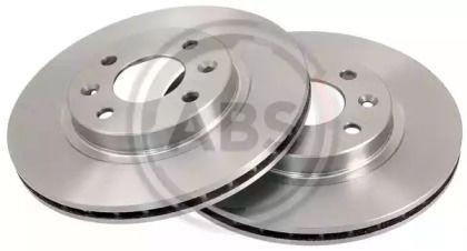 Вентилируемый тормозной диск на Ниссан Кабистар 'A.B.S. 16150'.