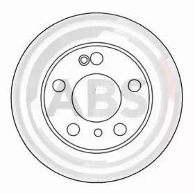 Тормозной диск на Ситроен ХМ 'A.B.S. 16188'.