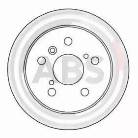 Тормозной диск на Тайота Камри 'A.B.S. 16229'.