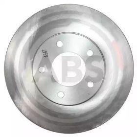 Вентилируемый тормозной диск на DODGE GRAND CARAVAN 'A.B.S. 16241'.