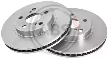 Вентилируемый тормозной диск на LEXUS CT 'A.B.S. 16301'.