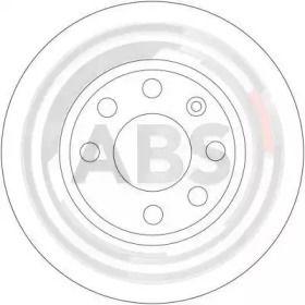Вентилируемый тормозной диск на VOLVO 480 'A.B.S. 16305'.