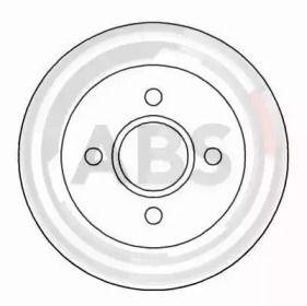 Тормозной диск A.B.S. 16375.