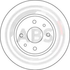 Вентилируемый тормозной диск на Ситроен Немо 'A.B.S. 16422'.