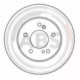 Тормозной диск на MERCEDES-BENZ CLC 'A.B.S. 16450'.