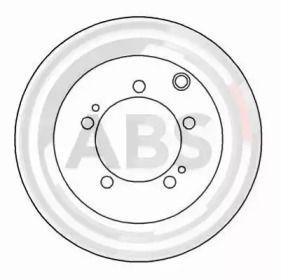 Вентилируемый тормозной диск на Митсубиси 3000Гт 'A.B.S. 16478'.
