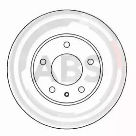 Вентилируемый тормозной диск на Мазда Кседос 9 'A.B.S. 16524'.