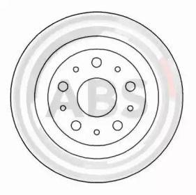 Тормозной диск на LANCIA KAPPA A.B.S. 16583.