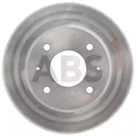Вентилируемый тормозной диск на Митсубиси Спейс Вагон 'A.B.S. 16590'.