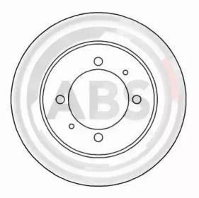 Тормозной диск на Вольво В40 'A.B.S. 16591'.