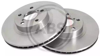 Вентилируемый тормозной диск на SUBARU OUTBACK 'A.B.S. 16632'.