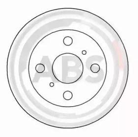 Вентилируемый тормозной диск на Тайота Старлет 'A.B.S. 16651'.