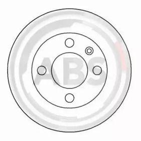 Тормозной диск на SKODA FAVORIT 'A.B.S. 16884'.