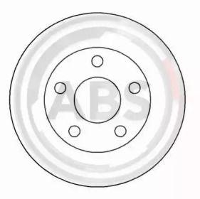 Вентилируемый тормозной диск на OPEL SINTRA 'A.B.S. 16916'.