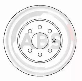 Вентилируемый тормозной диск на Шевроле Лачетти 'A.B.S. 16927'.