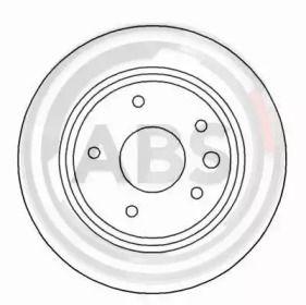 Вентилируемый тормозной диск на Ягуар ХЖСЦ 'A.B.S. 16999'.