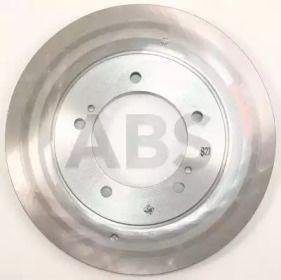 Вентилируемый тормозной диск на SUZUKI GRAND VITARA 'A.B.S. 17006'.