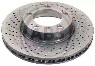Вентилируемый тормозной диск на PORSCHE 911 'A.B.S. 17072'.
