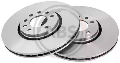 Вентилируемый тормозной диск на Опель Адам 'A.B.S. 17150'.