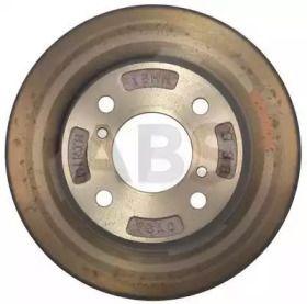 Вентилируемый тормозной диск на SUZUKI CARRY 'A.B.S. 17163'.