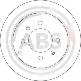 Тормозной диск на HYUNDAI MATRIX 'A.B.S. 17207'.