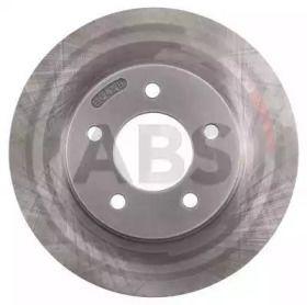 Вентилируемый тормозной диск на Крайслер 300М 'A.B.S. 17261'.
