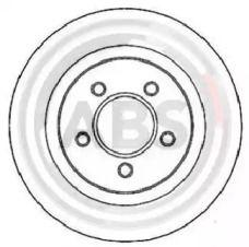 Вентилируемый тормозной диск на CHRYSLER 300M 'A.B.S. 17265'.
