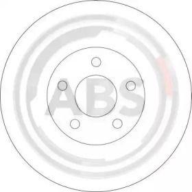 Вентилируемый тормозной диск на DODGE NEON 'A.B.S. 17319'.