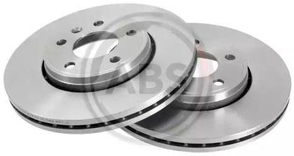 Вентилируемый тормозной диск на Ниссан Примастар 'A.B.S. 17329'.