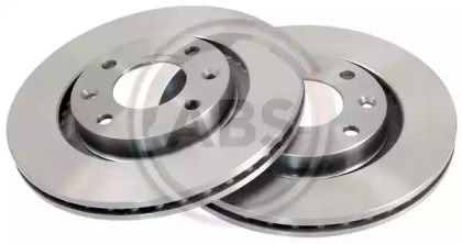 Вентилируемый тормозной диск на CITROEN C-ELYSEE 'A.B.S. 17336'.