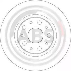 Вентилируемый тормозной диск на LANCIA THESIS 'A.B.S. 17387'.
