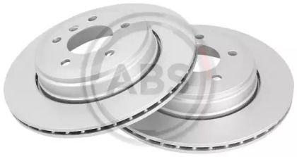 Вентилируемый тормозной диск на BMW 6 'A.B.S. 17533'.