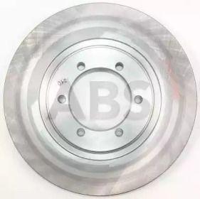 Вентилируемый тормозной диск на HYUNDAI TERRACAN 'A.B.S. 17551'.