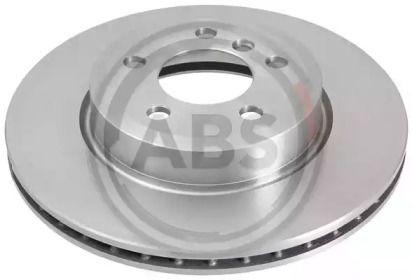 Вентилируемый тормозной диск на BMW X3 'A.B.S. 17597'.