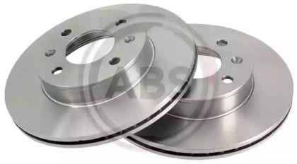 Вентилируемый тормозной диск на Хендай Ай10 'A.B.S. 17643'.