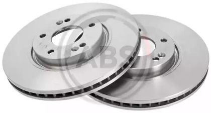 Вентилируемый тормозной диск на HYUNDAI I40 'A.B.S. 17676'.