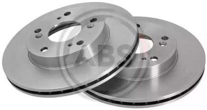 Вентилируемый тормозной диск на Хонда ЦРЗ 'A.B.S. 17690'.
