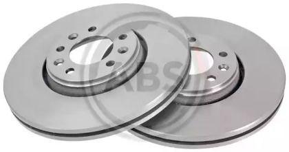 Вентилируемый тормозной диск на Тайота Проас 'A.B.S. 17773'.