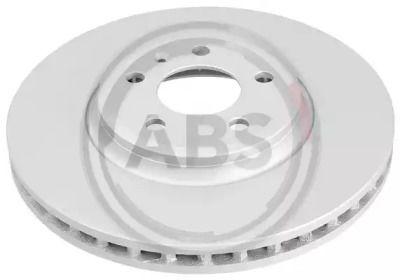 Вентилируемый тормозной диск на Ауди Ку5 'A.B.S. 17777'.
