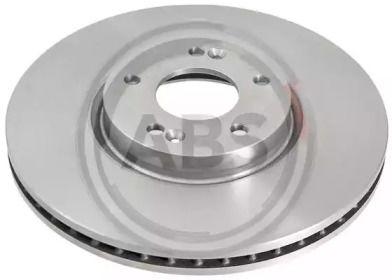 Вентилируемый тормозной диск на Хендай Гранд Санта Фе 'A.B.S. 17834'.
