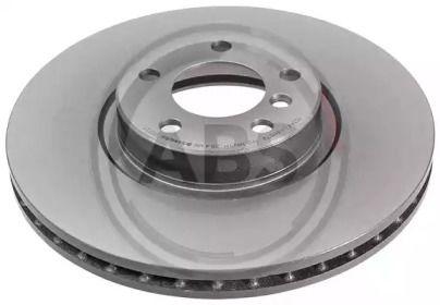 Вентилируемый тормозной диск на BMW X6 'A.B.S. 17868'.