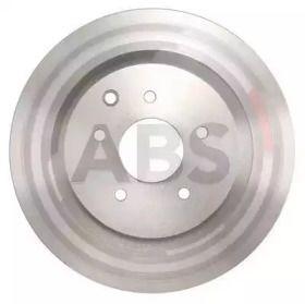 Вентилируемый тормозной диск на NISSAN 350Z 'A.B.S. 17952'.