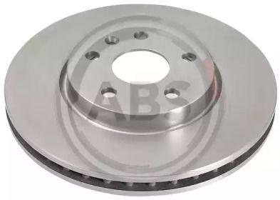 Вентилируемый тормозной диск на Шевроле Камаро 'A.B.S. 17989'.