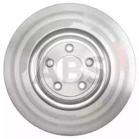 Вентилируемый тормозной диск на Ягуар Ф-тайп 'A.B.S. 18008'.