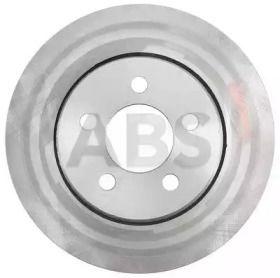 Вентилируемый тормозной диск на DODGE NITRO 'A.B.S. 18018'.
